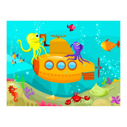 Fototapet - Submarine