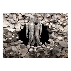 Fototapet - Love Made of Stone