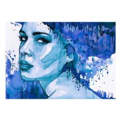 Fototapet - Blue Lady