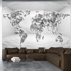 Fototapet - Diamond map