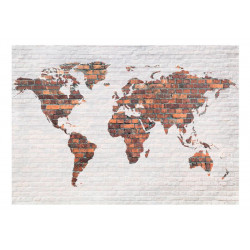 Fototapet - World Map:...
