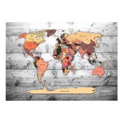 Fototapet - Direction: World