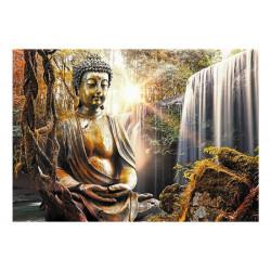 Fototapet - Waterfall of...