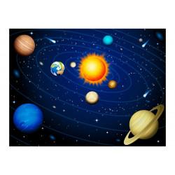 Fototapet - Solsystemet