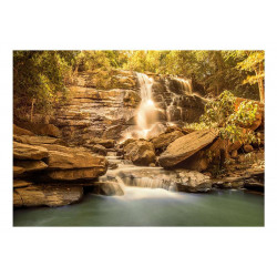 Fototapet - Sunny Waterfall