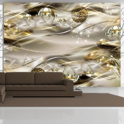 Fototapet - Golden Nebula