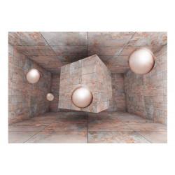 Fototapet - Pink Box