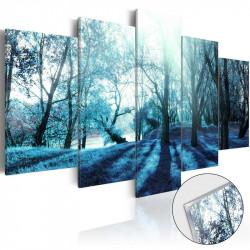 Billede på akrylglas - Blue...