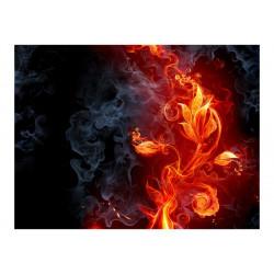 Fototapet - Fiery blomst