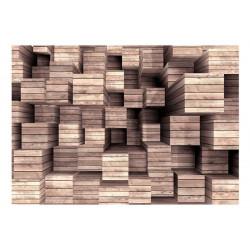 Fototapet - Wooden Finesse