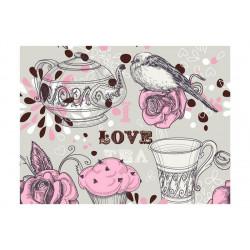 Fototapet - Afternoon tea