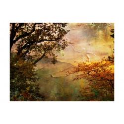 Fototapet - Painted autumn