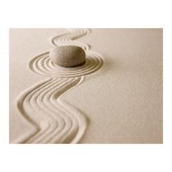 Fototapet - Zen sand haven