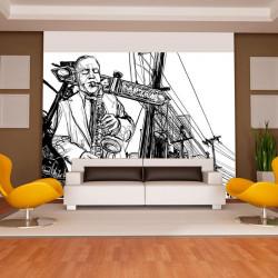 Fototapet - Saxophone...