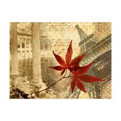 Fototapet - Efterår  og Paris
