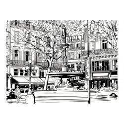 Fototapet - Sketch of...
