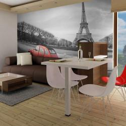 Fototapet - Eiffeltårnet og...