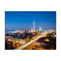 Fototapet - Berlin by night