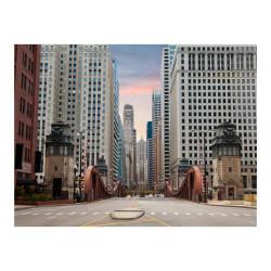 Fototapet - Chicago street