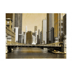 Fototapet - Chicagos bro...