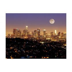 Fototapet - Månen over City...