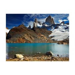 Fototapet - Mount Fitz Roy,...