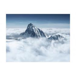 Fototapet - Mountain i skyerne