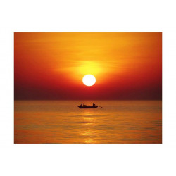 Fototapet - Sunset med...