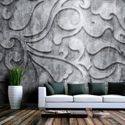 Fototapet - Sølv baggrund...