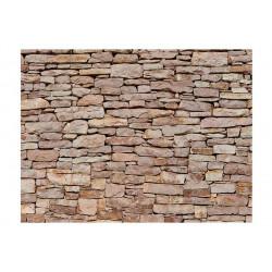 Fototapet - Natursten væg