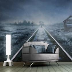 Fototapet - Spøgelset tog