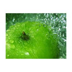 Fototapet - Grøn æble