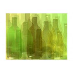 Fototapet - Grønne flasker