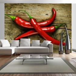 Fototapet - Spicy chili...