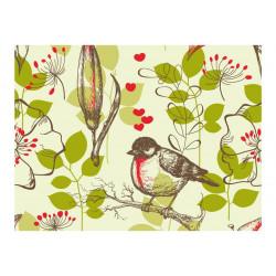 Fototapet - Bird og liljer...