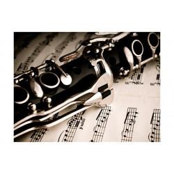 Fototapet - Clarinet and...