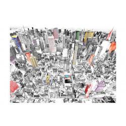 Fototapet - Skitse af New York
