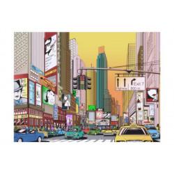 Fototapet - Rush hour - NY