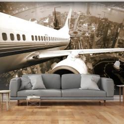 Fototapet - Flyvemaskine...