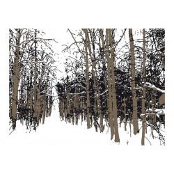 Fototapet - trees - autumn