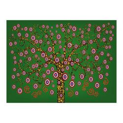 Fototapet - abstract: tree...