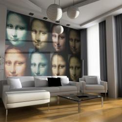 Fototapet - Mona Lisa (pop...