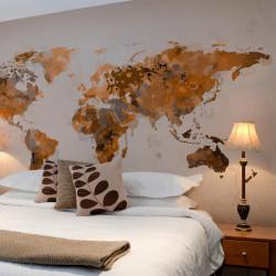 Fototapet - Verden i brune...