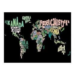 Fototapet - geography  in...
