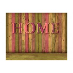 Fototapet - house (pink)