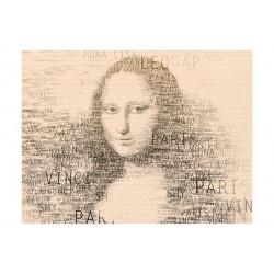 Fototapet - Mona Lisas tanker