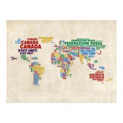 Fototapet - map (Italian)
