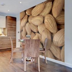 Fototapet - Tasty almonds