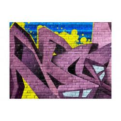 Fototapet - Street art -...