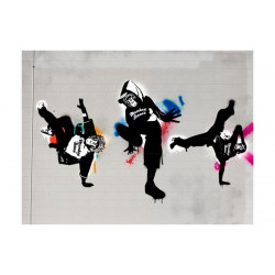 Fototapet - Monkey dance -...
